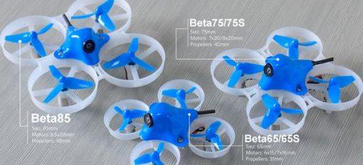 Beta65S BNF Micro Whoop Quadcopter Comparison