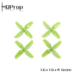 HQ Micro Whoop Prop 1.6X1.6X4 (40MM)1MM Shaft (2CW+2CCW)-ABS
