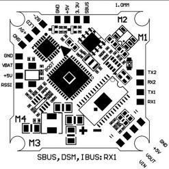 JHEMCU SH50A F4 OSD 2-3S_pinout