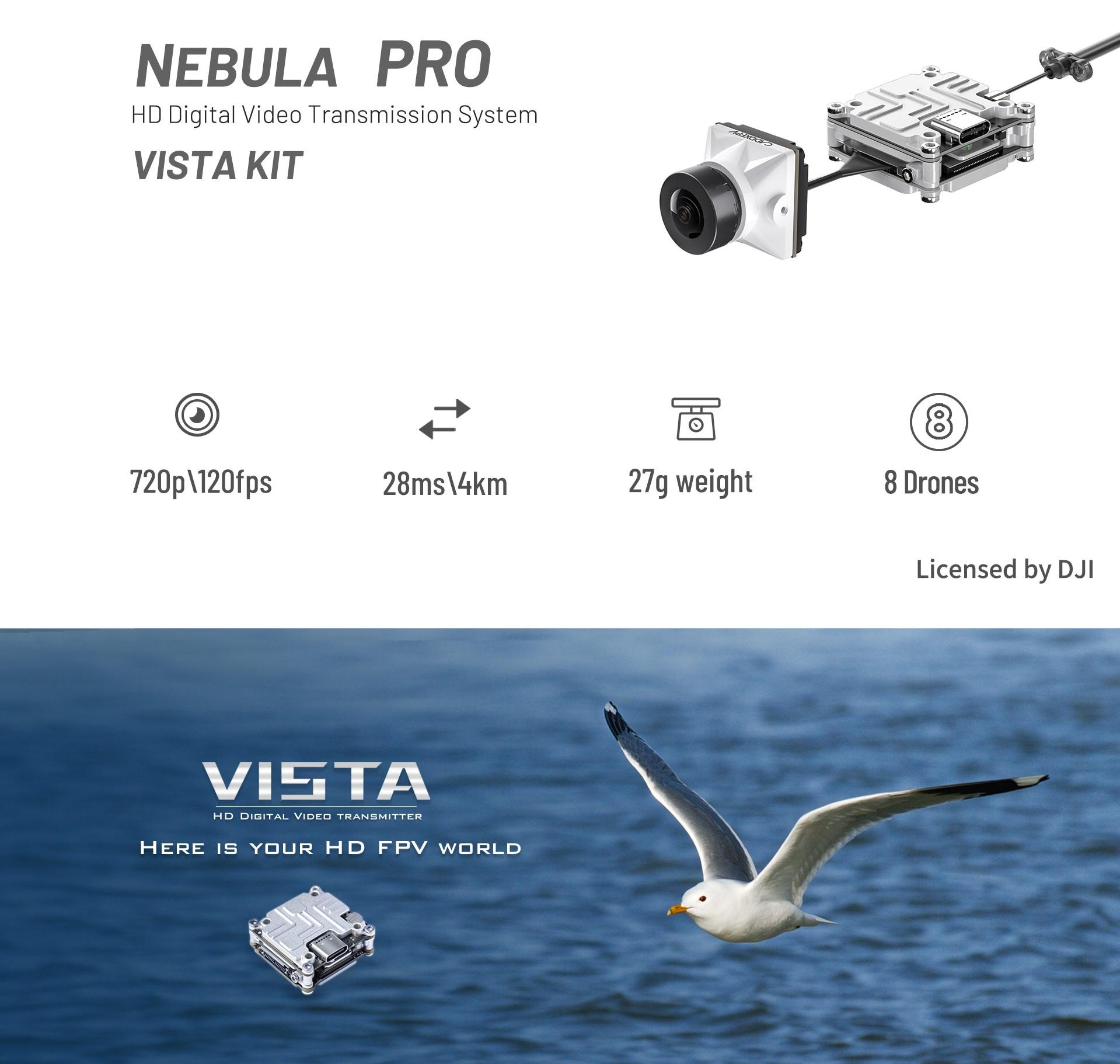 Caddx Nebula Pro Vista Kit HD Digital FPV