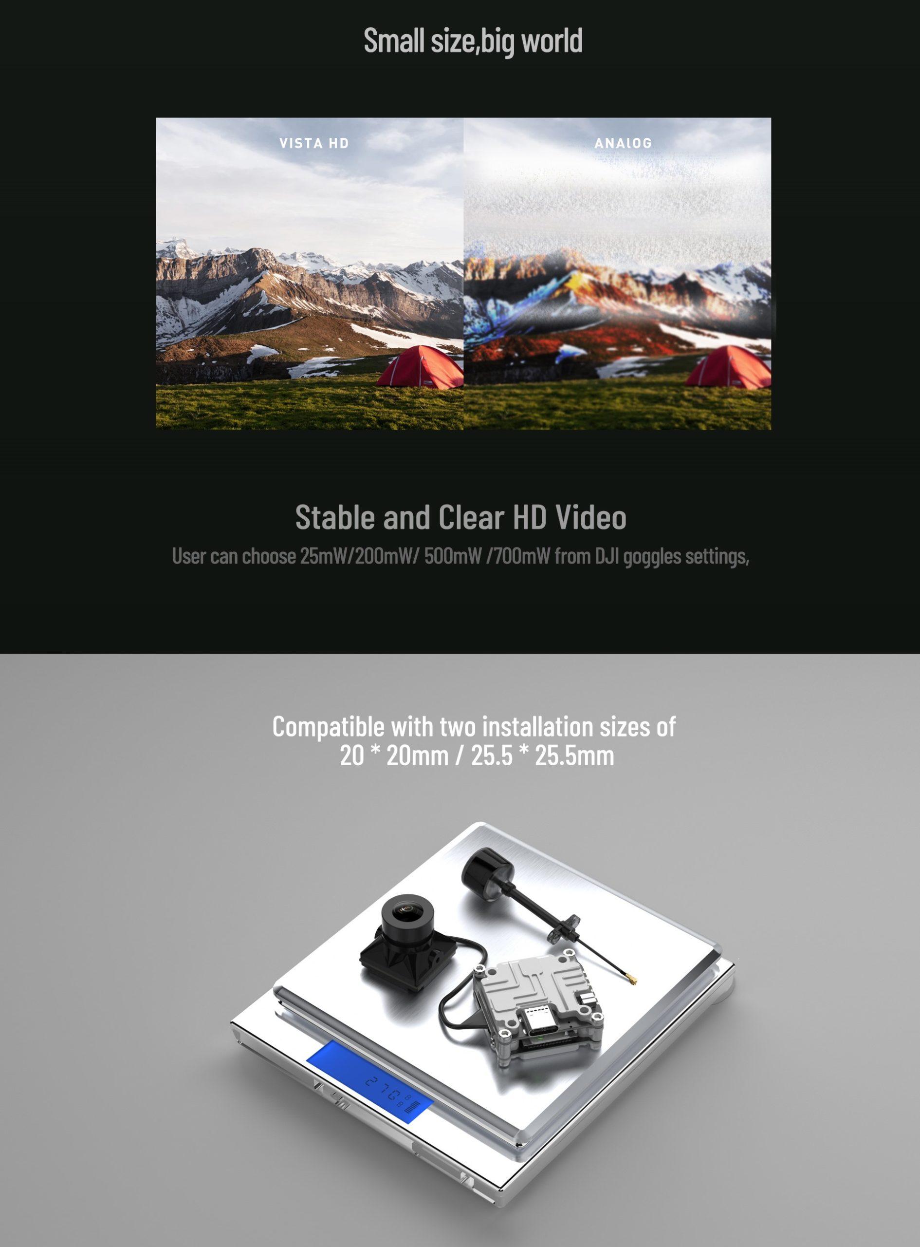 Caddx Nebula Pro Vista Kit HD Digital FPV Kit