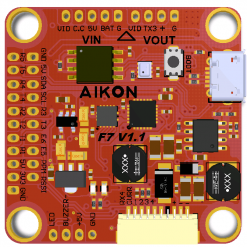 Aikon F7 Flight Controller with OSD