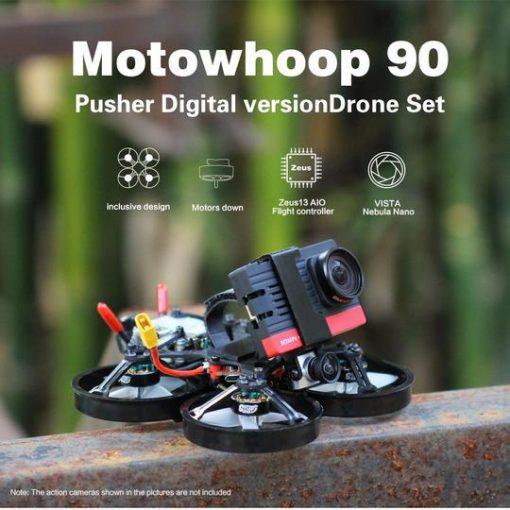 HGLRC Motowhoop 90mm Pusher HD